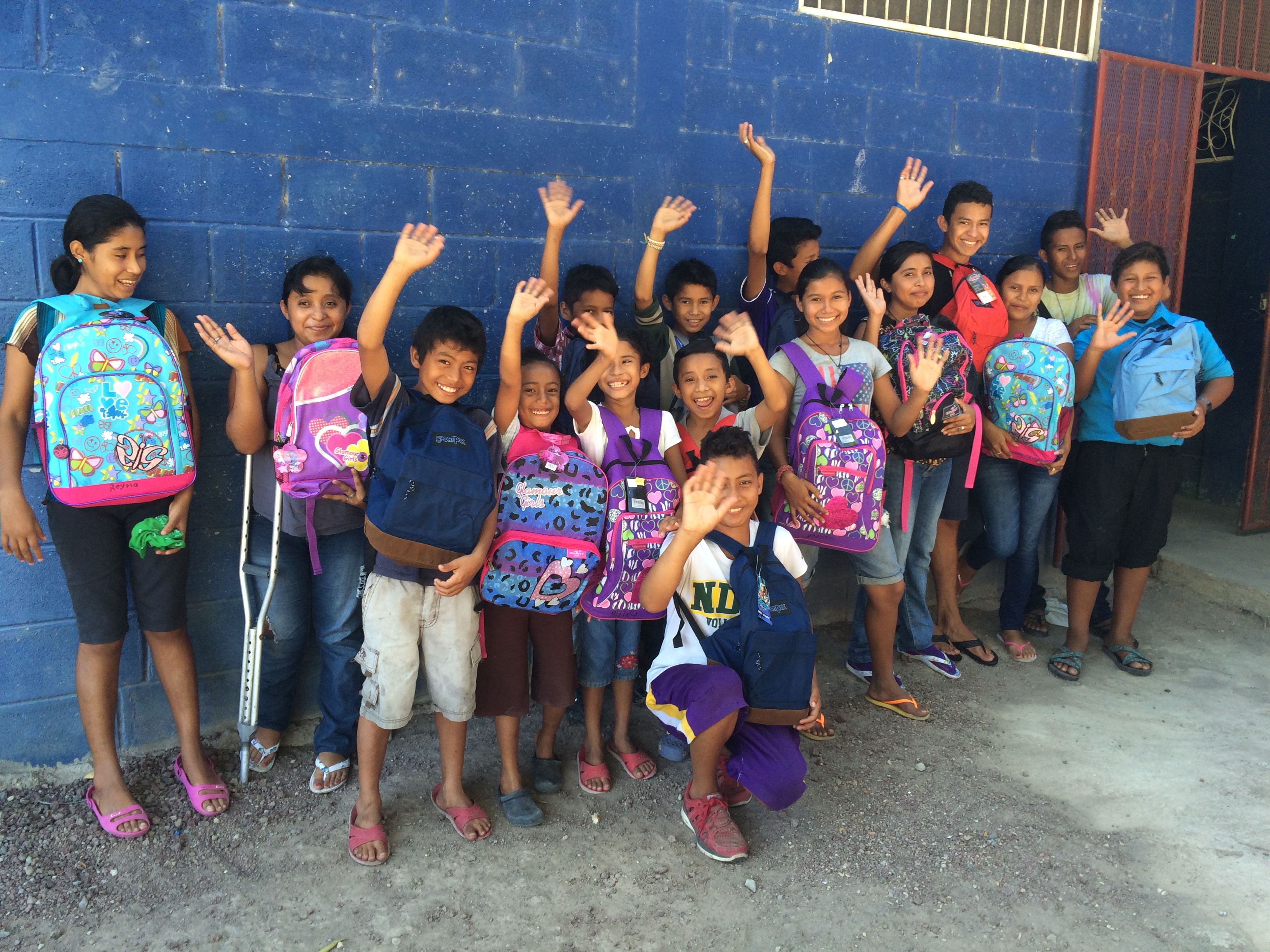 "Some of the children who reside in the SHELTER full time say, ""Gracias!"""